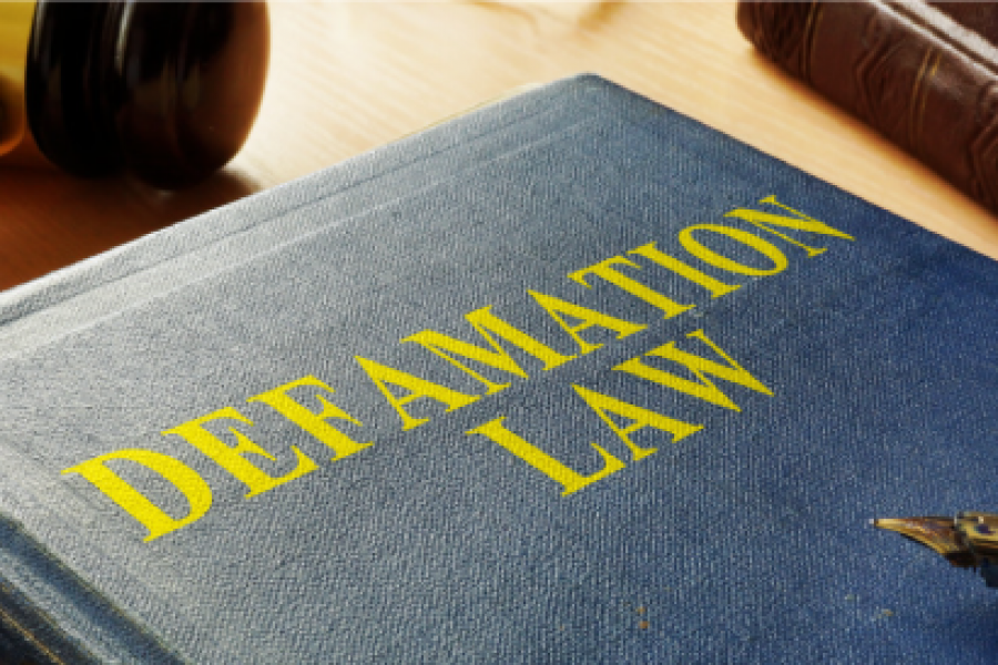 Freedom of defamation is not a thing
